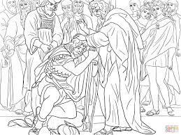 Click The Joshua Is Named Successor Of Moses Coloring Pages