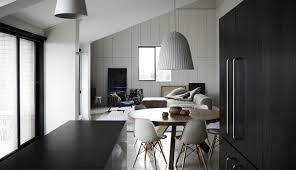 100 Penthouses In Melbourne Whiting Architects Used Appealing Monochrome Palette At Penthouse In