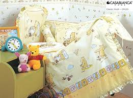 amazon com disney classic winnie the pooh cp635 baby crib 12pcs