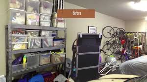 Cheap Garage Cabinets Diy by Garage Makeover With Ikea Kitchen Cabinets Youtube