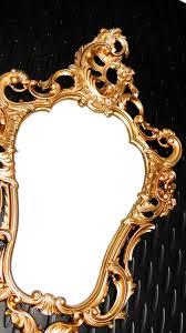 lustra 206 wandspiegel barock weiß gold spiegel antik 96x57