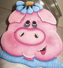Cookie Jar LidsPig Kitchen DecorPainted PigsUnique GiftsAnimal