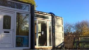 100 Shipping Containers Converted Containers Converted Into Homes Go On Display In Sheffield