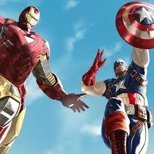 The Avengers Iron Man Captain America 2048x2048