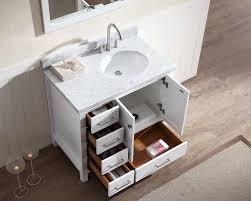 Single Sink Bathroom Vanity by Ariel Cambridge 37
