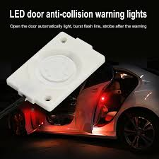 Red Car Door Open LED Warning Light Flash Indicator Safety Lamp ... Safety Lights Custer Products Super Bright 54led Emergency Vehicle Strobe Amberwhite Lighting Northern Mobile Electric Led Forklift Liftow Toyota Dealer Lift Best Xprite Dual Color Amber White Warning Truck Car 240 Umbrella Light Unique For Trucks 12v Dash Flash Lamp Bar Weisiji Mini 36w 72led 2016 Gmc Sierrea Lights Wwwwickedwarningscom 2018 Freightliner M2 With 21 Century Quick Draw Enclosed Carrier Snow Plow Top