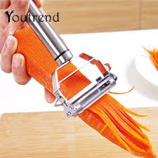 Multifunction Stainless Steel Julienne Cutter Vegetable Peeler Potato Carrot Grater Kitchen Accessories Cooking Tools