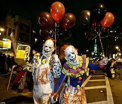 Greenwich Village Halloween Parade 2015 by Hazmat Suits And Ebola Quarantines Take Center Stage At Nyc
