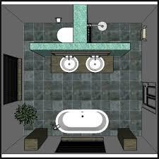 bad mit trennwand rustic bathroom remodel diy bathroom
