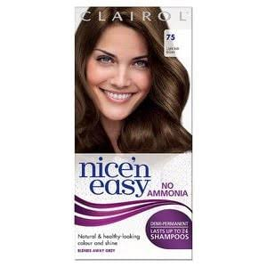 Nice 'n Easy Lasting Color Hair Dye - Light Ash Brown 75