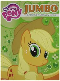 My Little Pony Jumbo Coloring And Activity Book 2