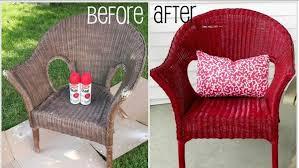chaises en osier comment nettoyer et peindre une chaise en osier bricobistro