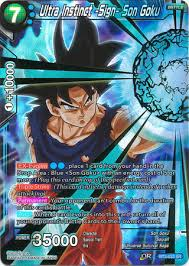 Ultra Instinct Sign Son Goku