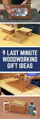 9 Last Minute Woodworking Gift Ideas