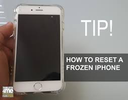 Frozen iPhone here is how to restart a frozen iPhone any model