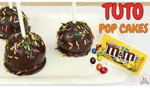 recette de cuisine cake recette pop cake chocolat et m m s sans moule et sans cuisson
