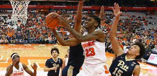 Frank Howard Led The Orange With 18 Points Against Pitt