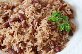 cuisine avec du riz riz collé haitien