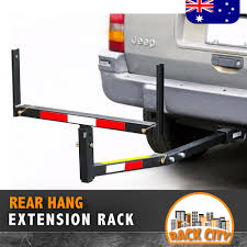 PICK UP TRUCK BED HITCH EXTENDER EXTENSION RACK 4WD 4X4 - Rack City