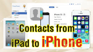 How to Sync Contacts from iPad to iPhone 7 6S 6S Plus Easily