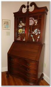 Drop Front Secretary Desk by Antique Drop Front Secretary Desk With Bookcase Best Home