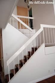 Remodelaholic   Brand New Stair Banister, Home Remodel Wrought Iron Stair Railings Interior Lomonacos Iron Concepts Remodelaholic Brand New Stair Banister Home Remodel Cost Of Cool Banisters And Model Staircase Wonderful Photos Concept Caan Ct Brooks And Falotico Associates Fairfield County Railings Railing Stairs Kitchen Design Baby Gate For Without Wall Gear Gallery Best 25 Banister Ideas On Pinterest Railing Renovation Using Existing Newel Blog Designed Ideas 67 With Additional Interior