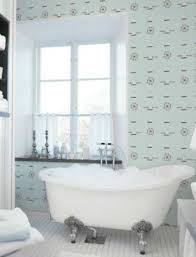 Nautical Bathroom Ideas With Wallpaper And Clawfoot Tub : Fresh ... How To Removable Wallpaper Master Bathroom Ideas Update A Vanity With Hgtv Main 1932 Aimsionlinebiz Create A Chic With These Trendy Sa Dcor New Kitchen Beautiful Elegant Vinyl Flooring Craft Your Style Decoupage And Decorate Custom Bathroom Wallpaper Ideas Design Light 30 Gorgeous Wallpapered Bathrooms Home Design Modern Neutral Graphic Takes This Small From Basic To Black White For Hawk Haven For The Washable Safe Wallpapersafari