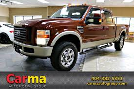 2008 FORD F250 SUPER DUTY KING RANCH Stock # 14874 For Sale Near ...