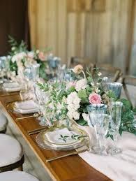 Beautiful wedding reception table setting Colonnade Ballroom
