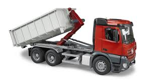 Bruder - 03622 | Construction: MB Arocs Lorry With Transport ...
