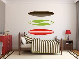 Wall Mural Decals Beach by Surfboard Decals Surfing Decals Beach Wall Decals Tropical Wall