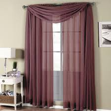 Sheer Curtain Panels 108 Inches by Abripedic Rod Pocket Sheer Curtain