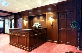 We Have Created Custom Wood Millwork For Retail Clients Office Work Including Reception Areas And