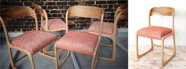 chaise traineau baumann atelier compas chaises baumann nouvelle teinte de la boiserie