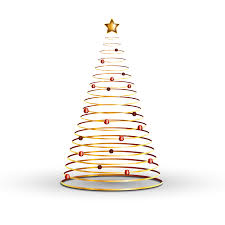 Christmas Tree Gold 12001200 Transprent Png Free Download