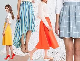 Trendy Womens Skirts Spring Summer 2017