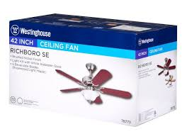 Mainstays Ceiling Fan And Light by Westinghouse Lighting 42 Inch Indoor Ceiling Fan With Light