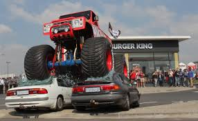 Burger King Unleashes Monster Truck Mayhem In Boksburg Monster Truck Crushing Cars License For 3100 On Picfair Paradise Truck Mid Air Jump Stock Editorial Photo Mreco99 165107558 Good Crowd Takes In Two Nights Of Trucks Event News Clujnapoca Romania Sept 25 Blue Safe To Use Youtube Ford F150 Svt Raptor Traxxas Stampede Xl5 110th 30mph Electric The Story Behind Grave Digger Everybodys Heard Of Fileair Force Aftburner Crushes At The 2007 Jam A Carcrushing Comeback Wsj Crushing Cars In Grizzly