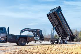 100 12 Yard Dump Truck Iron Bull 22000 Lb Super Heavy Duty Trailers