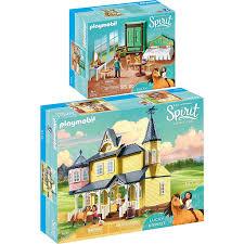 playmobil 9475 9476 spirit 2er set luckys zuhause schlafzimmer