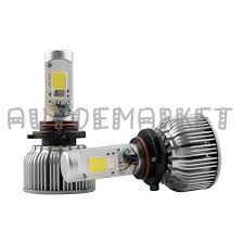 9006 2in1 led headlight bulbs color changing eye for