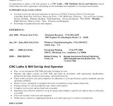Bunch Ideas Of Cnc Lathe Resume Objective Machinist Essaybiz Sample Awesome Year