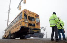 100 Mountain Truck Longmont 2 Injured In Weld County School Bus Collision With Semi Truck In