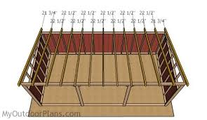 Livestock Loafing Shed Plans by 12x24 Loafing Shed Roof Plans Myoutdoorplans Free Woodworking