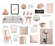 Rose Gold By Rheeee Liked On Polyvore Featuring Interior Interiors