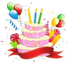 This png image Birthday Cake Transparent Clipart is available for free