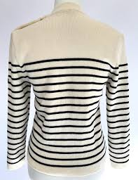 vintage french saint james fisherman sailor sweater inspired by