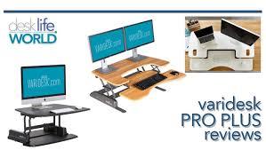 Varidesk Pro Plus 36 by Varidesk Pro Plus Reviews Adjustable Standing Desks Desk Life
