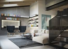 Unfinished Basement Ceiling Paint Ideas by Exposed Concrete Walls Ideas U0026 Inspiration