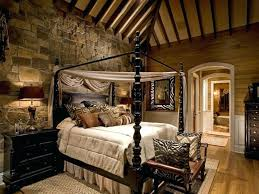 Rustic Bedroom Decor Ideas With Laminate Flooring And Bench Stone Wall Country Living Room Decorating